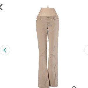 Mossimo Flare size 5/6 khaki color pants